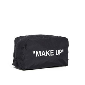 NWT Off-White Cosmetic Bag